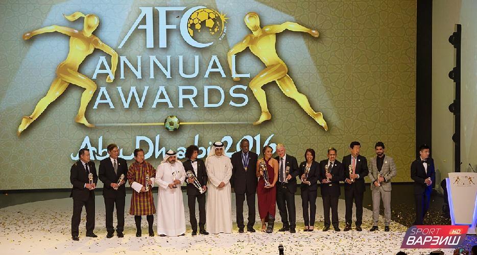 Названы лучшие футболисты Азиатской футбольной Конфедерации. Таджикские футболисты среди лучших нет